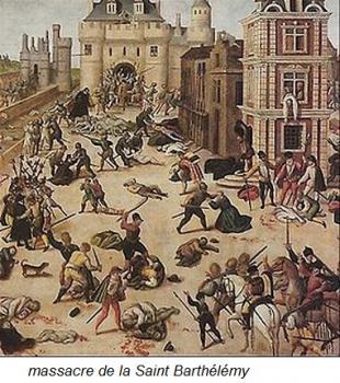 le massacre Saint Barthélemy