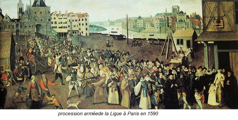 procession de la ligue 1590