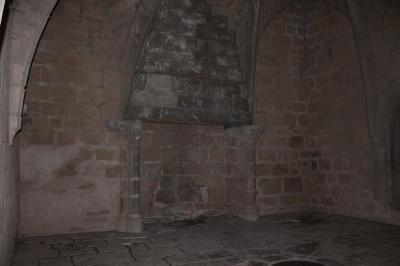 cheminée au premier étage