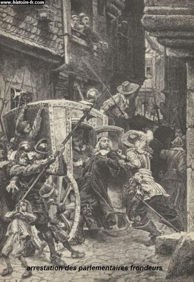arrestation des parlementaires