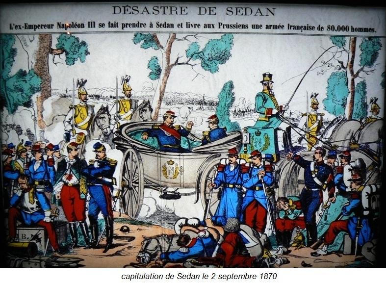 capitulation de Sedan le 2 septembre 1870