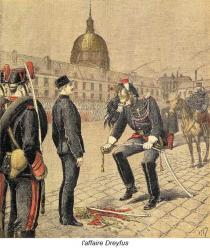 l'affaire Dreyfus