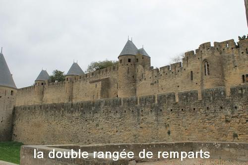 La double rangee de ramparts