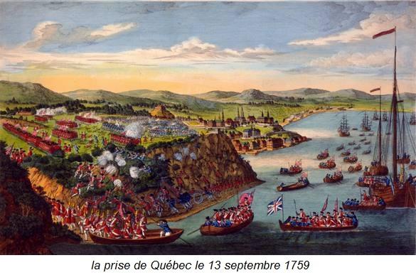la prise de Québec
