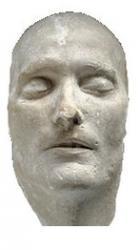 masque mortuaire de Napoléon 1er