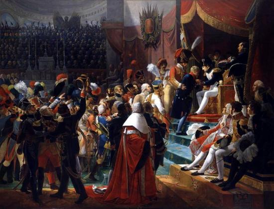 premiere-distribution-des-decorations-de-la-legion-d-honneur-dans-l-eglise-des-invalides-le-14-juillet-1804-jean-baptiste-debret-1768-1848-1812-musee-de-l-histoire-de-france-versai