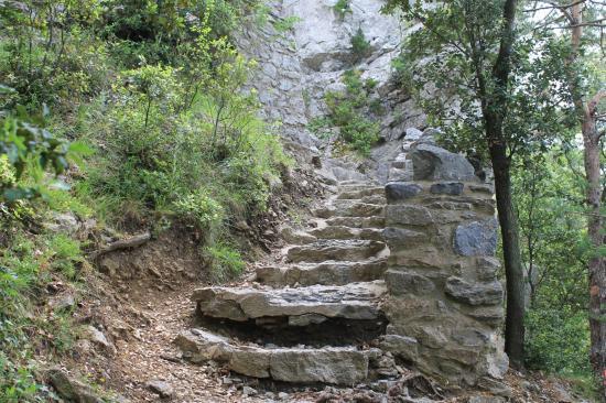 escalier d'acces