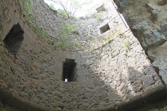 intérieur de la Tour sud