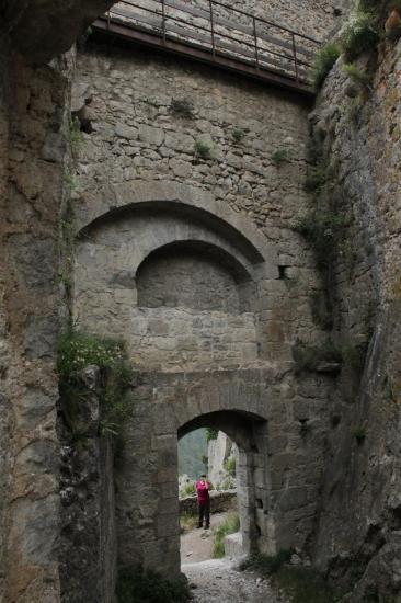 porte d'entrée côté intérieur