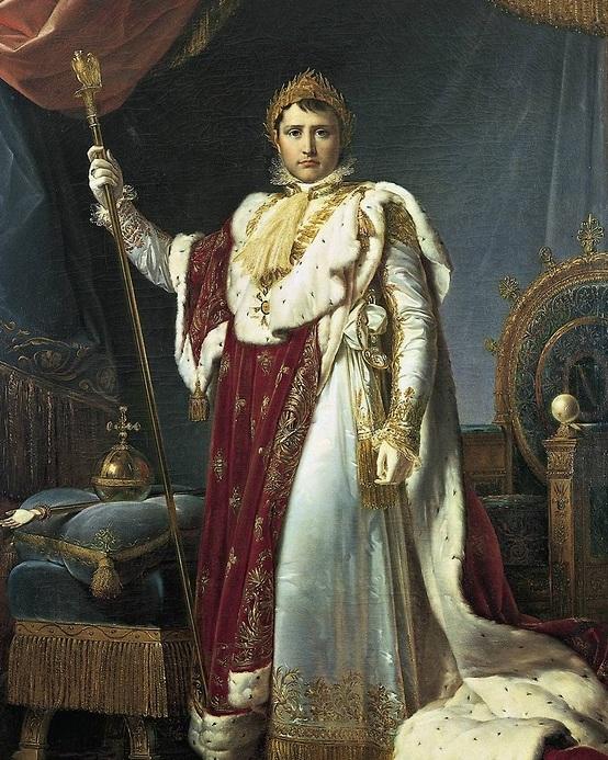 Napoléon dans son habit de sacre